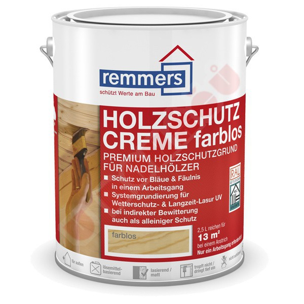 remmers aidol holzschutz creme 0 75 l barvy laky u noh. Black Bedroom Furniture Sets. Home Design Ideas