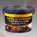 Lepidlo na polystyrén a asfaltové pásy DenBit STYRO LT 10 KG
