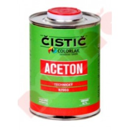 ACETON TECHNICKÝ R 7003 0,7 L - technická kapalina k odmašťování a čištění povrchu kovových předmětů COLORLAK