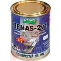 DENAS 2v1 3 KG - Antikorozní rychleschnoucí vodou ředitelná jednovrstvá barva