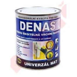 DENAS Univerzál MAT 10 KG - vodou ředitelná vrchní krycí barva