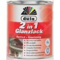 Düfa Glanzlack 2v1 - Akrylátový email lesklý RAL 9010 bílý 2,5 L