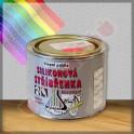 Silikonová stříbřenka 500C - barva žáruvzdorná 8 KG