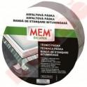 MEM Asfaltová páska (fólie hliník) 10 cm x 10 m