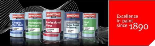 JOHNSTONES - malířské barvy, laky, lazury, emaily, oleje