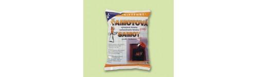 Šamot  - šamotová výmazová hmota